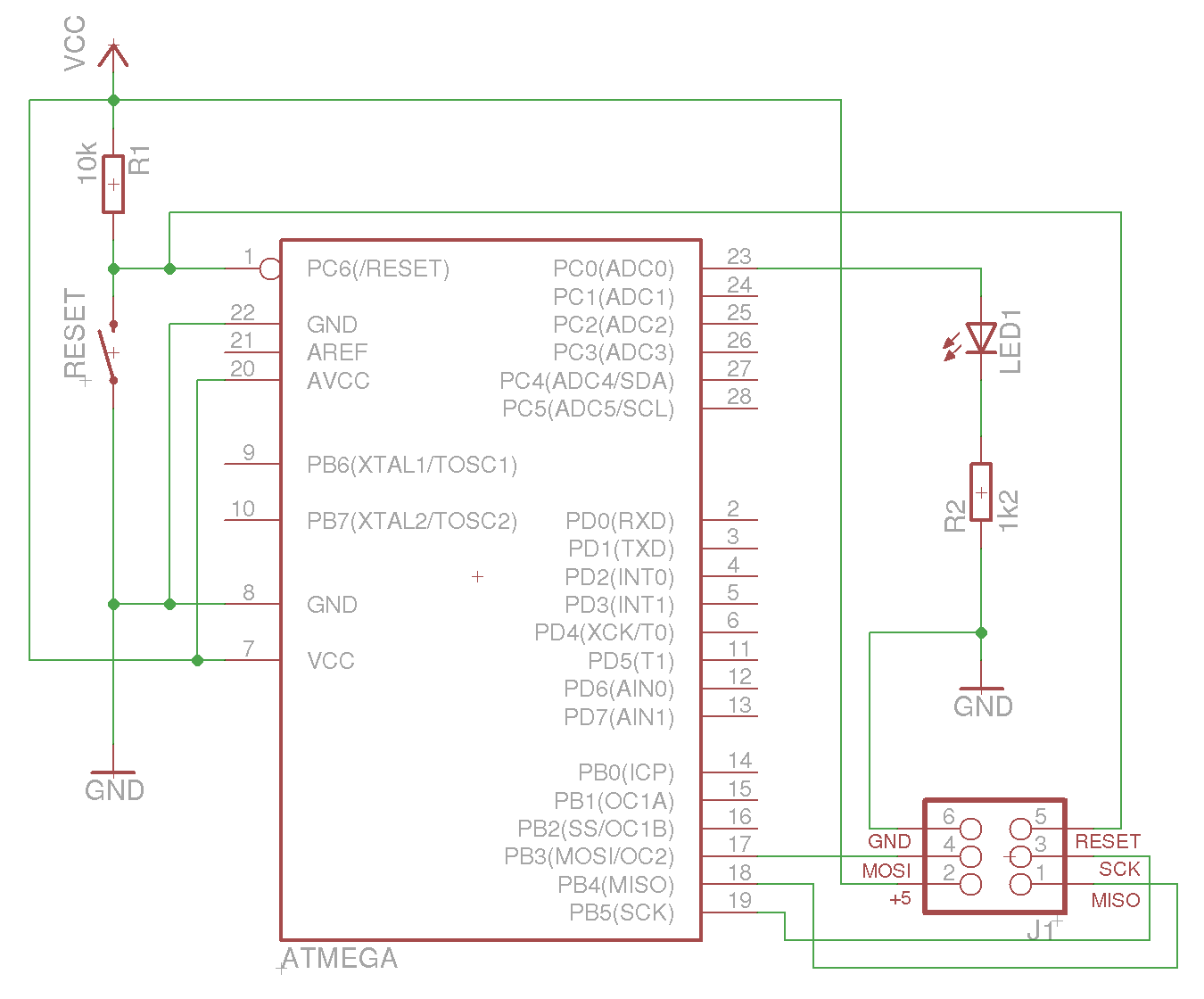 Getting Started With Atmel Avrs On Linux Dream Dimensions Circuit Diagram Software Microcontrollers Under Gnu Debian In Particular It Covers All Steps Starting The Prerequisites Setting Up A Minimal