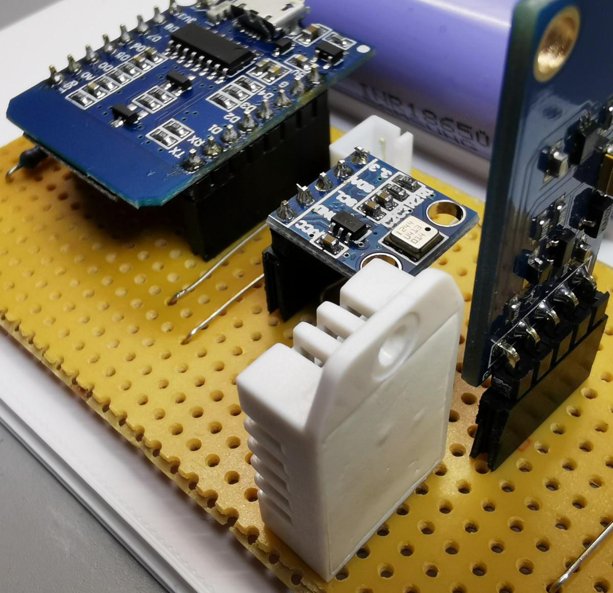 Wireless home sensor network